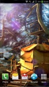 Tree Village 3D Wallpaper for Android Mobile Phone