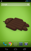 Android KitKat 3D Wallpaper for Android Mobile Phone