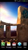3D Stonehenge Android Mobile Phone Wallpaper