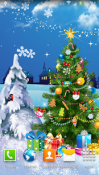 Christmas Night Wallpaper for QMobile NOIR A10