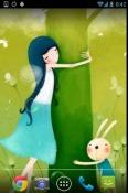 Lovely Girl Android Mobile Phone Wallpaper