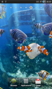 The Real Aquarium Wallpaper for LG Optimus L3 II Dual