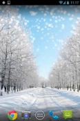 Winter Snow Wallpaper for QMobile NOIR A10