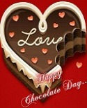 Happy Chocolate Day G'Five Z1 Wallpaper