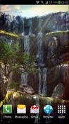 3D Waterfall Android Mobile Phone Wallpaper
