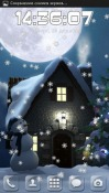 Christmas Moon Android Mobile Phone Wallpaper
