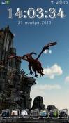 Dragon Strike Wallpaper for QMobile A6