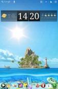 Ocean Aquarium 3D: Turtle Isle Android Mobile Phone Wallpaper