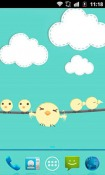 Flightless Bird Android Mobile Phone Wallpaper
