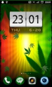 Falling Weed Wallpaper for  Mobile Phone