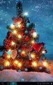 Christmas Snowflakes Android Mobile Phone Wallpaper