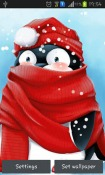 Winter Penguin Android Mobile Phone Wallpaper