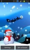 Christmas Magic Android Mobile Phone Wallpaper