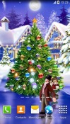 Christmas Ice Rink Android Mobile Phone Wallpaper