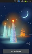 Christmas Snow Android Mobile Phone Wallpaper
