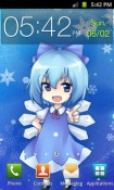 Touhou Cirno Android Mobile Phone Wallpaper