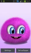 Pink Fluffy Ball HTC Desire 300 Wallpaper