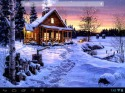 Winter Holiday Android Mobile Phone Wallpaper
