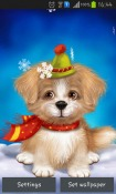 Cute Puppy Android Mobile Phone Wallpaper