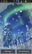 Aurora: Winter Android Mobile Phone Wallpaper