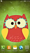 Cute Owl Android Mobile Phone Wallpaper