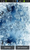 Frozen Glass Android Mobile Phone Wallpaper