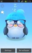 Chubby Penguin QMobile A6 Wallpaper