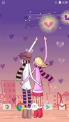 Cartoon Love Android Mobile Phone Wallpaper