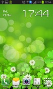 Lucky Clover Android Mobile Phone Wallpaper