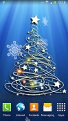 Christmas Tree 3D Android Mobile Phone Wallpaper