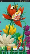 Plasticine Spring Flowers Android Mobile Phone Wallpaper