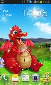 Cute Dragon Android Mobile Phone Wallpaper