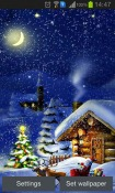 Christmas Night Android Mobile Phone Wallpaper