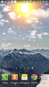 Winter Mountain Android Mobile Phone Wallpaper
