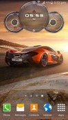Cars Clock Android Mobile Phone Wallpaper