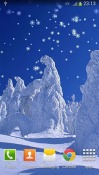 New Year: Snow Android Mobile Phone Wallpaper