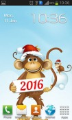 Year Of The Monkey Android Mobile Phone Wallpaper