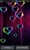 Magic Hearts Android Mobile Phone Wallpaper