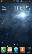 Snowfall Night Android Mobile Phone Wallpaper