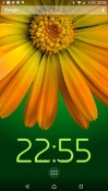 Rotating Flower Android Mobile Phone Wallpaper