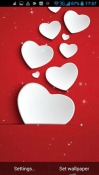 Hearts Of Love Android Mobile Phone Wallpaper