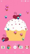 Cute Cupcakes Android Mobile Phone Wallpaper