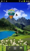 Mountain Weather Android Mobile Phone Wallpaper