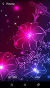Neon Flower Realme U1 Wallpaper