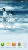 Lovers Android Mobile Phone Wallpaper