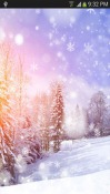 Snowfall Android Mobile Phone Wallpaper
