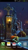 Halloween Cemetery Android Mobile Phone Wallpaper