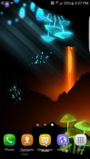 Epic Lava Cave Android Mobile Phone Wallpaper