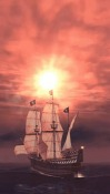 Pirate Ship 3D Android Mobile Phone Wallpaper