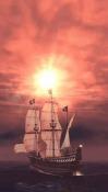 Pirate Ship 3D QMobile NOIR A10 Wallpaper